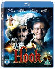 Hook Blu-ray 1992 Region 5050629318746 Robin Williams Dustin Hoff.