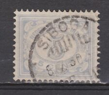 Nederlands Indie Netherlands Indies Indonesie 112 TOP CANCEL SIBOGA Cijfer 1912