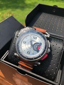 Diesel On Time Men's Hybrid Smartwatch Gunmetal/Brown (DZT1002)