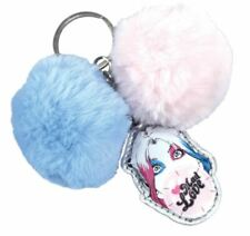 OFFICIAL HARLEY QUINN BIRDS OF PREY POM POM MAD LOVE KEYRING KEY CHAIN RING