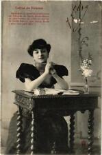 CPA Lettre de femme. A. BERGERET (674826)