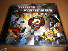 TRANSFORMERS animated 80s movie 20TH soundtrack CD optimus prime unicron rodimus