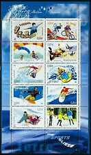2004 FRANCE BLOC N°76** BF  COLLECTION JEUNESSE - SPORTS DE GLISSE,  SHEET MNH