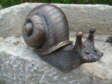 ESCARGOT EN BRONZE JET D EAU , statue animalière , étang , fontaine