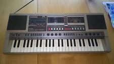 Vintage Casio CK-500 Boombox Ghettoblaster w/ Built In Keyboard Organ Very Rare