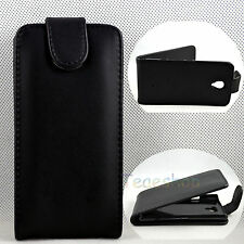 Black Flip Leather Protective Cover Case for Sony Ericsson Xperia T LT30i LT30P