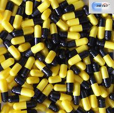 DR T&T 10000 Capsule Di Gelatina Vuote Gelatina, Giallo Nero Taglia 0 Taglia 0