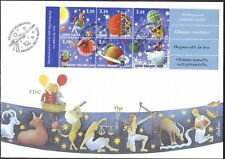 Astrology Horoscope Space Friendship Finland Stamp FDC 2000