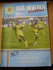 24/10/2004 Beveren v Cercle Bruges & 07/11/2004 Genk [Joint Issue] (Slight Creas