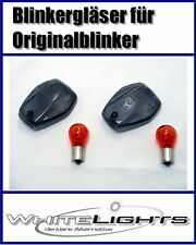 Intermitente Trasero Negro Cristales Honda CBR1100XX CBR 1100 Xx Smoked Signals