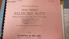 Wright: Salzburg Suite: In Mozart's Style: Brass Band: Music Score
