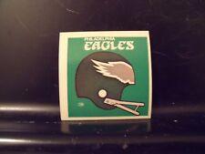 1977 NFL Football Helmet Sticker Decal Philadelphia Eagles Sunbeam Bread