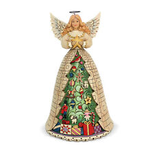 Jim Shore 'Trimmed With Christmas Tidings' Christmas Angel 6002734