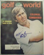 AL GEIBERGER signed Mr 59 1975 GOLF WORLD magazine AUTO Autographed USC TROJANS