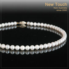 white pearl necklace Aaa grade 6.5~7mm saltwater
