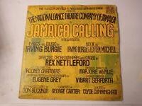 National Dance Theatre Company Of Jamaica-Jamaica Calling Vinyl LP 1986