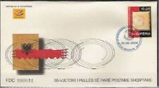 Albania Stamps 2008. 95 years of the first stamp of Albanian post. FDC MNH