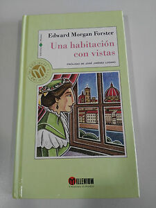 Una Room with Views Edward Morgan Forster Book Cover Hard Millenium
