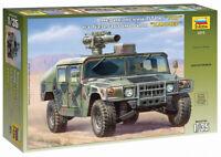 """Zvezda 3575 US Anti-Tank complex """"TOW"""" - HUMMER Model Kit 1/35"""