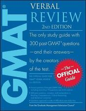 The Official Guide for GMAT Verbal Review by Graduate Management Admission...