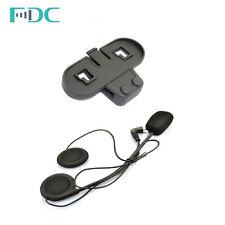 FDC Harte Kabel Mic Kopfhörer Headset + Clip Für T-COM VB/02 Interphone Intercom