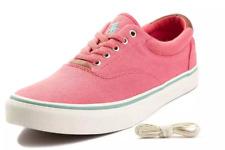 Polo Ralph Lauren US Thorton II Casual Low Top Sneaker Men's Size 9D Hyannis Red