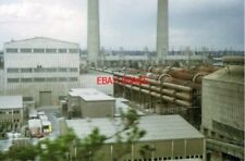 PHOTO  1973 CEMENT KILNS NORTHFLEET THE LARGE PIPES ARE ROTARY CEMENT KILNS. IN