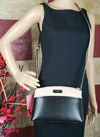 New Kate Spade New York Jeanne Leather Crossbody Bag Purse Black / warm was $199