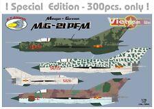 RV Aircraft 1/72 MiG-21 PFM Vietnam War plastic kit LIMITED