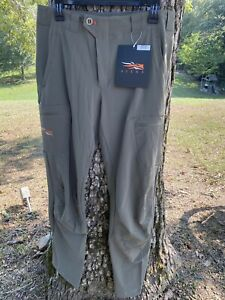 Sitka Gear | Ascent Pant | Pyrite | Mens Size 36T | 50127-PY-36T Tall