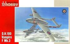 DH 100 VAMPIRE F MK.3 (RAF MKGS) 1/72 SPECIAL HOBBY