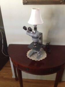 Lamp, Microscope Night light for a future scientist