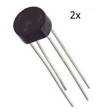 2 PONTE DI DIODI 1,5A 200V W02 raddrizzatore monofase 1.5A circuito arduino