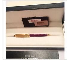 MONTBLANC  GOLD VERMEIL & BORDEAUX MOZART 0.7mm PENCIL NEW IN BOX  117DV