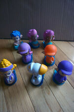 Lot of 8 Fisher-Price Bubble Guppies Roll N' Go Sliders Figures Nick Jr.