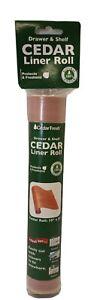 Household Essentials CedarFresh Cedar Drawer and Closet Shelf Liner, 6ftx10in
