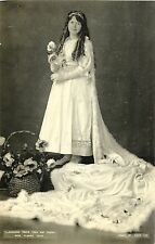 Miss Florrie Young, Llandudno Peace Year May Queen, Llandudno, Wales UK RPPC