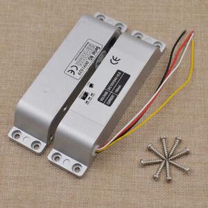 12V Electric Drop Bolt Door Lock Kit Fail Safe for Access Control System 1000KG