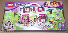 LEGO Friends SUNSHINE RANCH 41039 Mia Liza horse foal bunnies cat hen