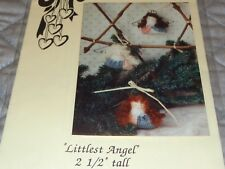 COUNTRY HEARTSTRINGS LITTLEST ANGEL PATTERN WIRE WINGS INCLUDED
