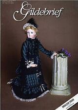 Gildebrief 1-2011 Dollmaking Antique Dress Patterns full size patterns