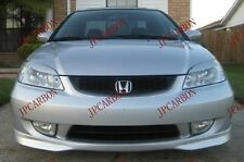 Fiberglass Headlight Eyebrows Eyelids Covers for 2001-2005 Honda Civic ES EM L&R