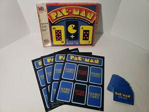 Pac-Man Card Game - Milton Bradley 1980 - Complete
