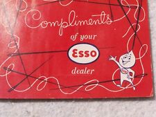 PROMO - Vintage Esso Dealer complimentary advertising sewing needles, rust proof