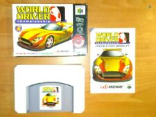 WORLD DRIVER CHAMPIONSHIP NINTENDO 64 N64 EUR
