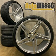 "19"" VEEMANN V-FS31 ALLOY WHEELS AND TYRES BMW 5X120 E90 F30 3 4 series"