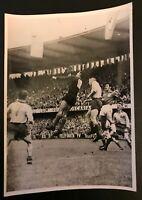 FOOTBALL PHOTO ORIGINALE WORLD CUP 1958 FINALE BRESIL - SUEDE 5-2 GILMAR HAMRIN