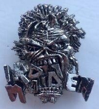 Iron Maiden Eddie Crunch Pin Badge, Bruce Dickinson, Heavy Metal Alchemy Rock