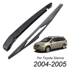 Rear Windshield Wiper Arm Blade Kit Fit For Toyota Sienna LE CE XLE 2004-2005