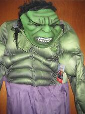 Disney Store Marvel Avengers Hulk Child Costume. Size 7/8 Brand New.